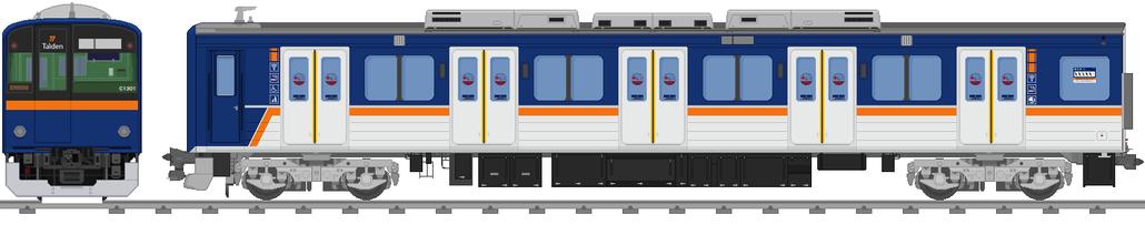 太陽電気鉄道C1390系電車