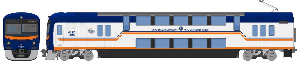 太陽電気鉄道Y2200系電車