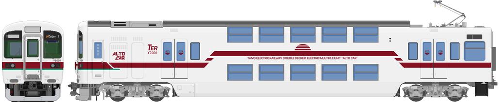 太陽電気鉄道Y2000系電車