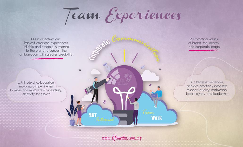 TEAM EXPERIENCE TEAMBUILDING