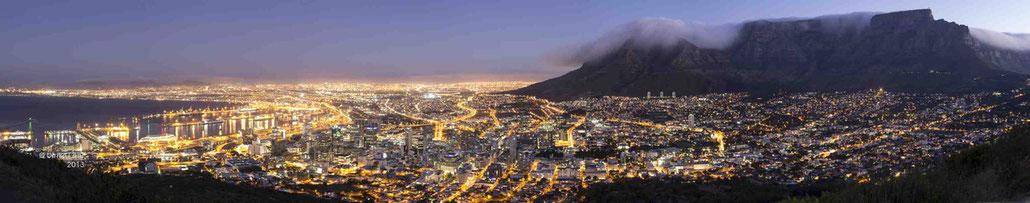 Blick auf Kapstadt vom Signal Hill