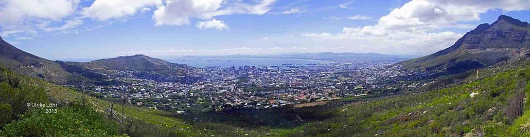 Kapstadt Panorama bei Tag