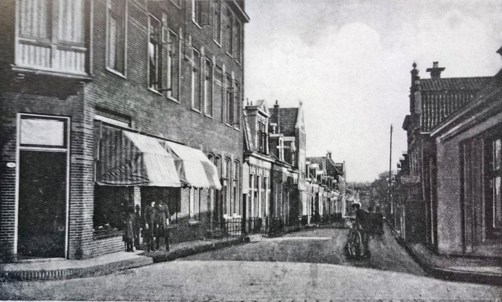 De Jacobstraat (Oosterpoort) omstreeks 1938.