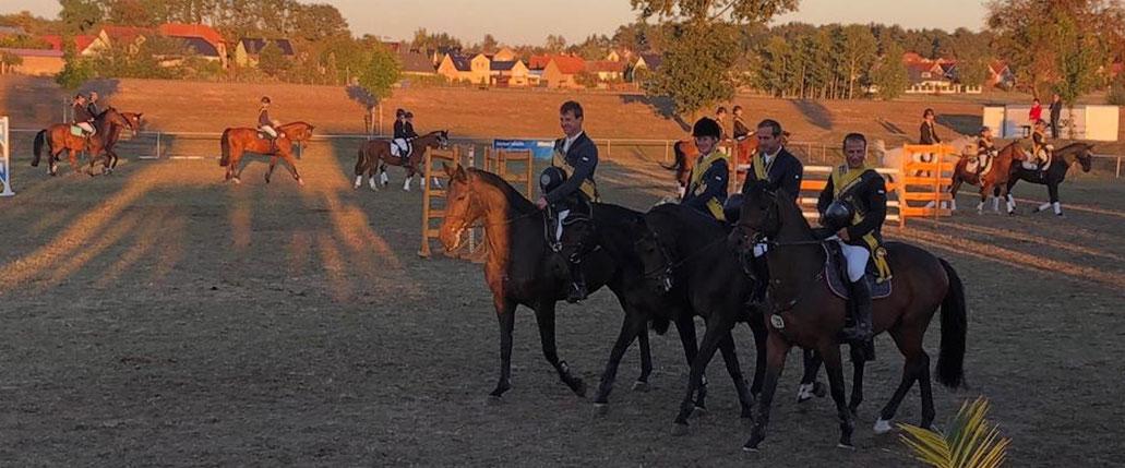 Das Team Ihleburg ist in der Besetzung Hendrik Holländer, Lisa Naujok, Dirk Holländer und Steffen Buchheim Kreismeister. Foto: Alpha-Report