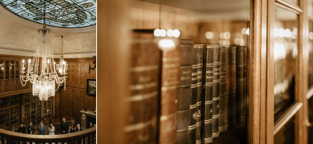 Bibliothek schloss waldenburg