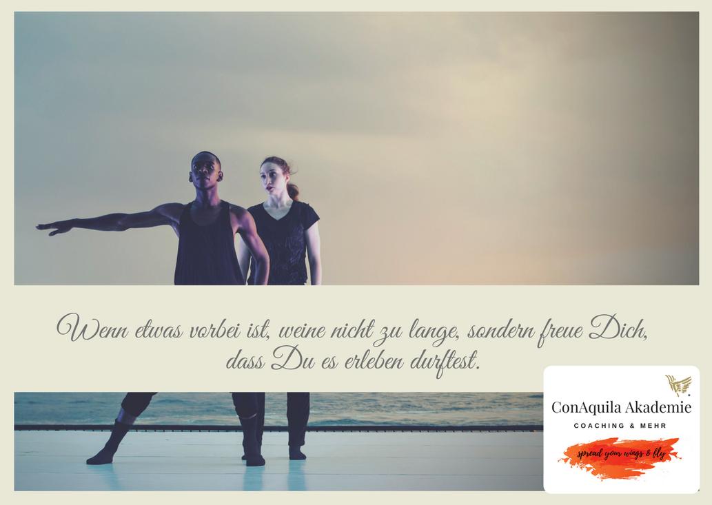 Wenn etwas vorbei ist. Inspirationen, ConAquila, Martina M. Schuster. Coaching Akademie, Bildquelle: Canva Pro.