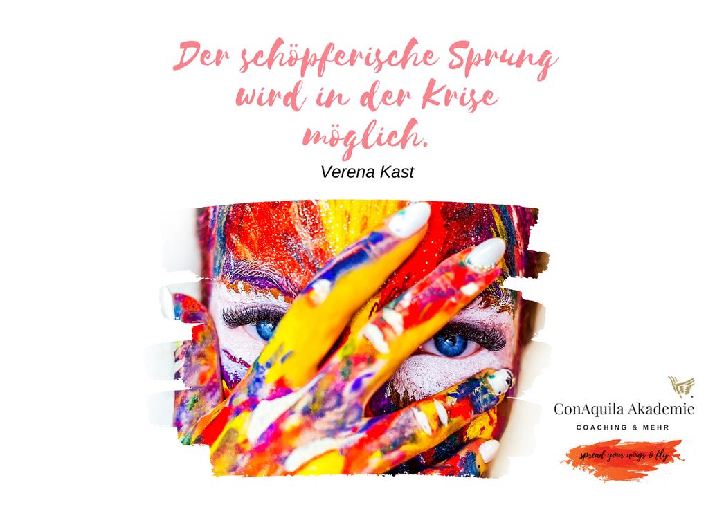 Der schöpferische Sprung. Inspirationen, ConAquila, Martina M. Schuster. Coaching Akademie, Bildquelle: Canva Pro.