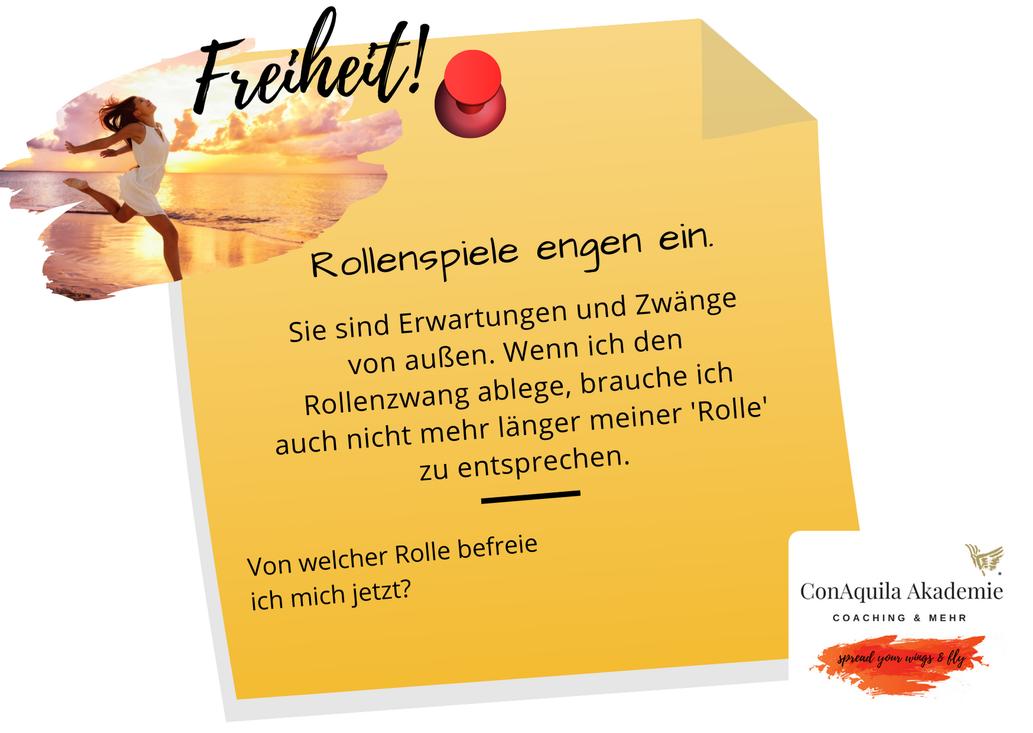 Rollenspiele Inspirationen, ConAquila, Martina M. Schuster. Coaching Akademie, Bildquelle: Canva Pro.