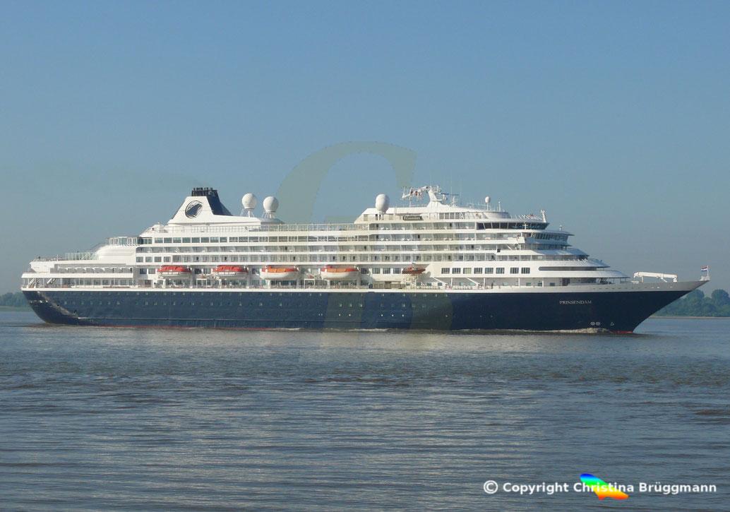 Kreuzfahrtschiff PRINSDAM