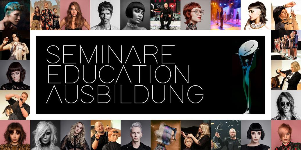 SEA - Seminare Education Ausbildung - Seminare für den perfekten Haarschnitt und die ideale Haarfarbe. Lernen Sie von den besten Friseuren.