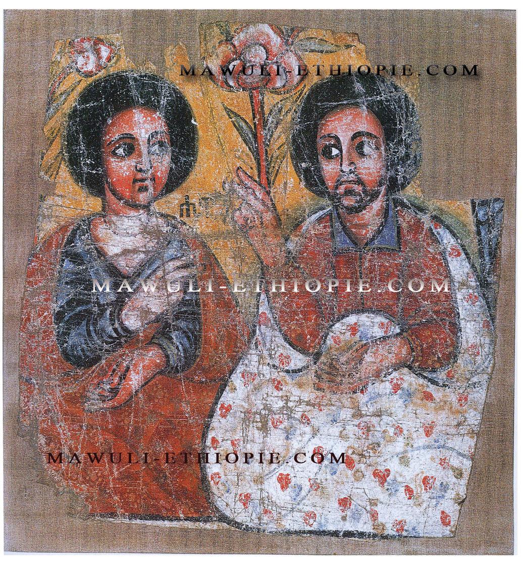 Icone éthiopienne Adam Eve Mawuli Ethiopie Plateforme Solidaire France Ethiopie  Equitable Vêtements Robes écharpes habesha Café Epices Ethiopiennes Artisanat .jpg