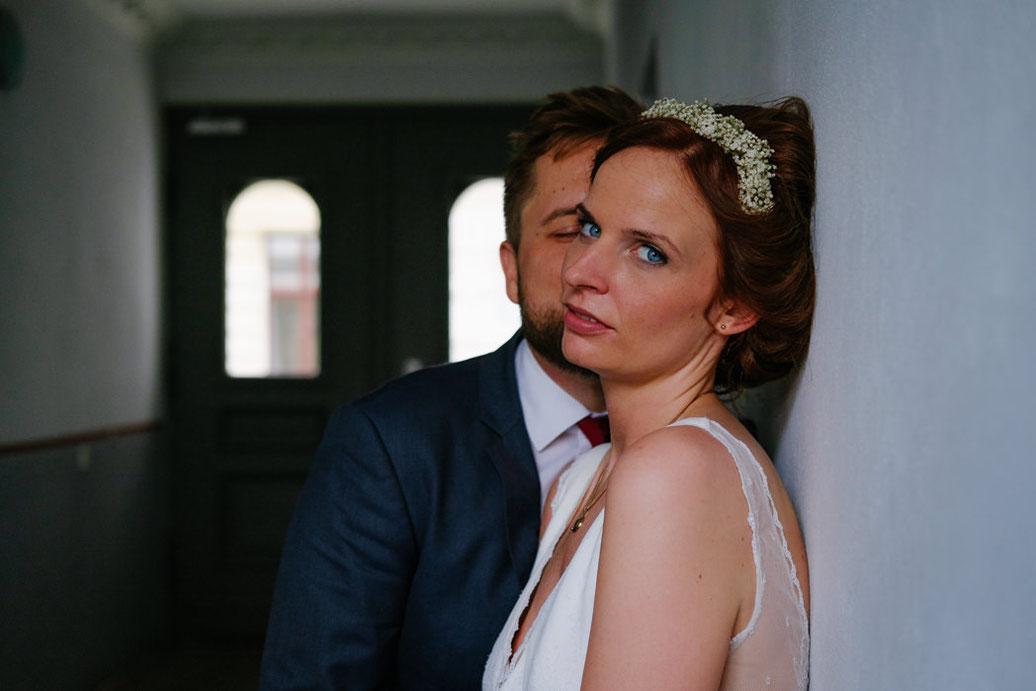Hochzeit Magdeburg - Hochzeitsfotograf - Brautpaarshooting Magdeburg