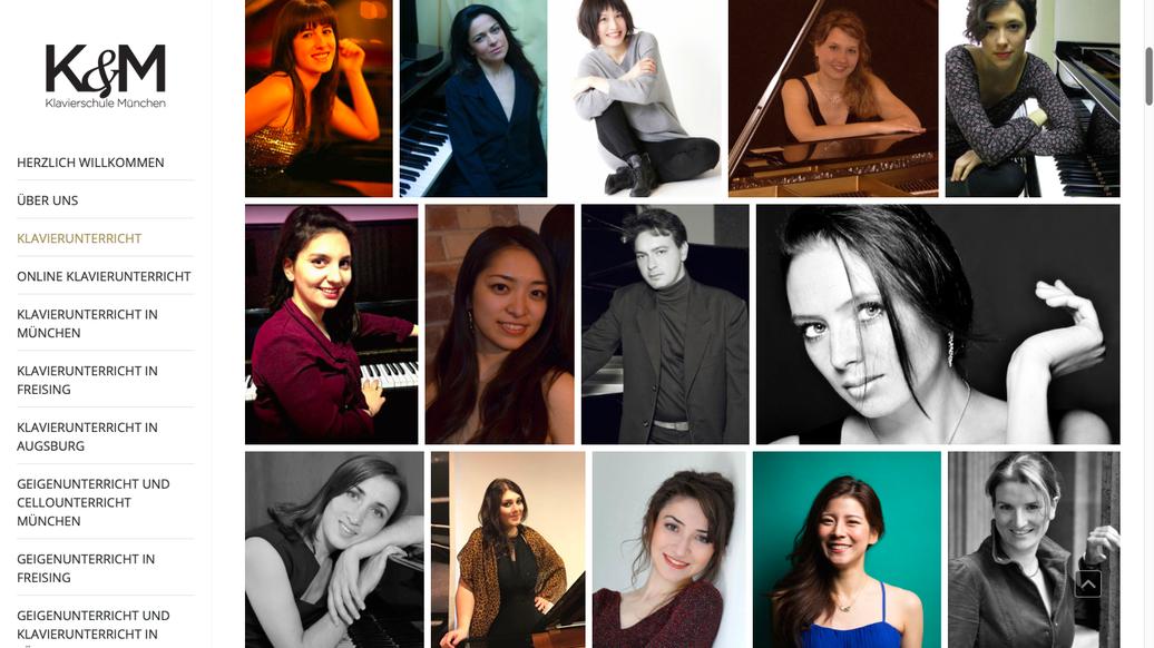 Klavierunterricht in München - auch bei Ihnen privat zu Hause