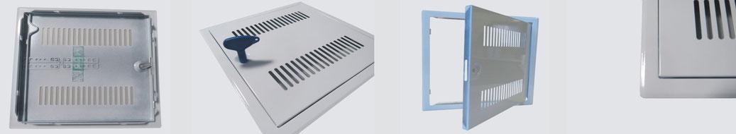 Heika-Softline mit Lüftungsschlitzen und Vierkantverschluss