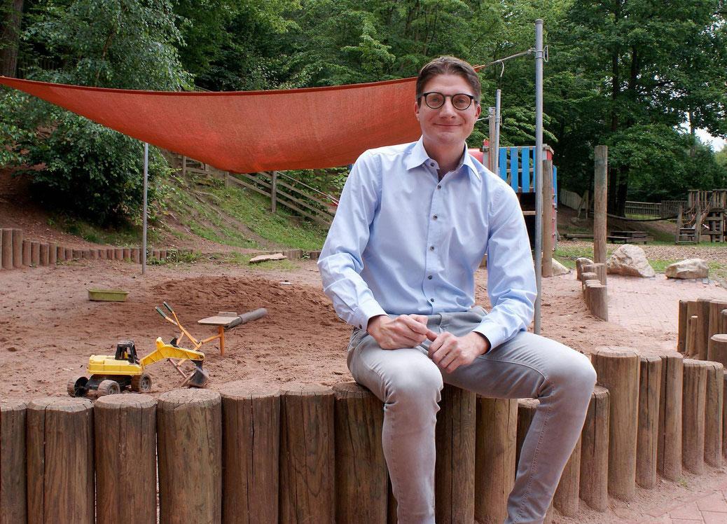 HZ Sommerinterview: Haunetals Bürgermeister Timo Lübeck ...