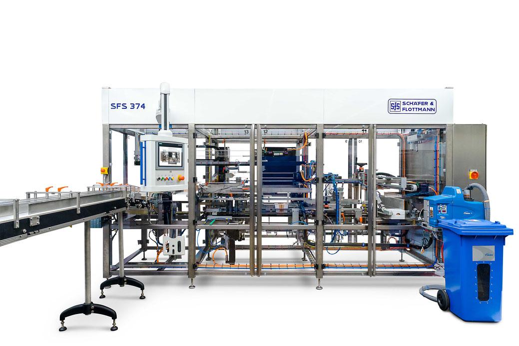 Industrie 4.0, Verpackungsmaschine
