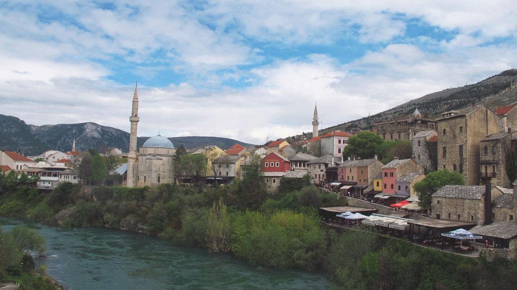 bigousteppes mostar mosquée pont balkans bosnie herzégovine