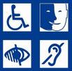 Accessibilité handicap accrue - pour déficient moteur, visuel, auditif, mental