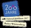 Logo 200 Jahre Fahrrad Fahrrad-Jubiläum 2017 Baden-Württemberg