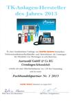 Auerswald zum 5. Mal in Folge Telefonanlagen-Hersteller des Jahres!