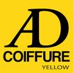 logo ad coiffure yellow