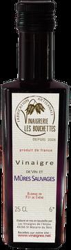 Vinaigre de vin et Mûres Sauvages