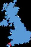 Englandkarte