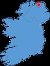 Irlandkarte