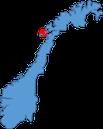 Norwegenkarte