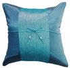 タイランド クッションカバー チェンマイ デザイン シリーズ 【Chiang Mai  Design】 40×40cmの商品画像ブルー02