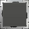 Выключатель одноклавишный серо-коричневый Werkel