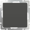 Выключатель одноклавишный проходной серо-коричневый Werkel