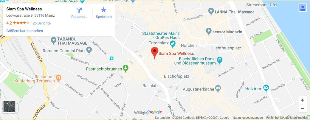 Google Maps Routenplaner, Google Bewertungen