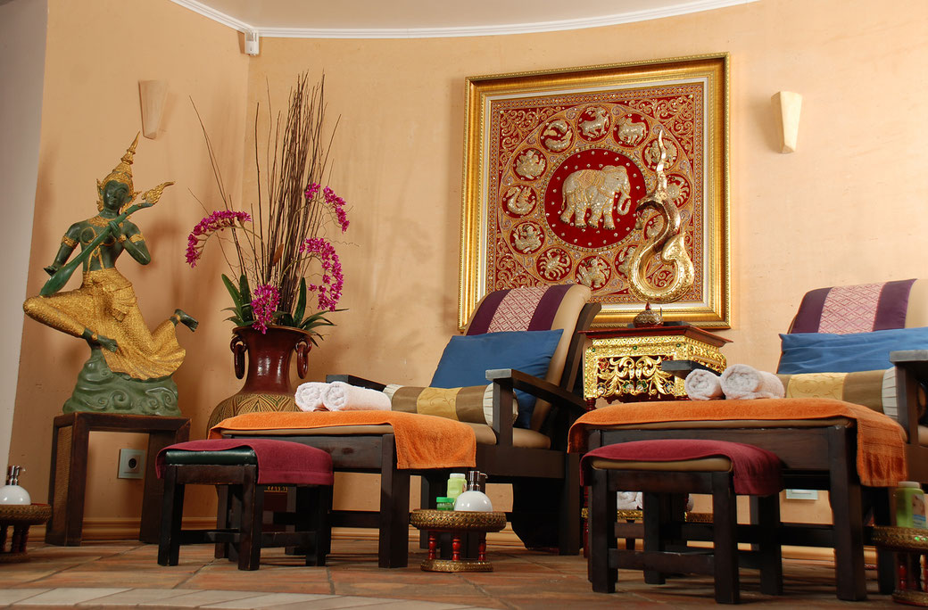 Massageliegen bei SIAM SPA in Mainz