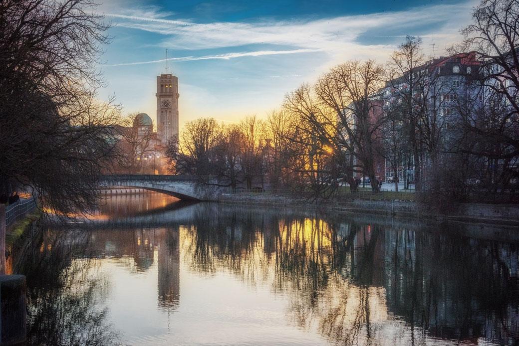 Freie Trauung in München an der Isar