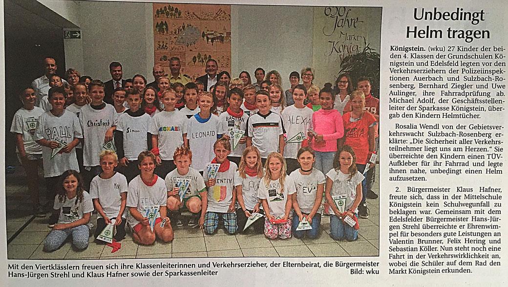 Klaus Hafner 2. Bürgermeister Schule Königstein CSU Ortsverband Königstein Hirschbach
