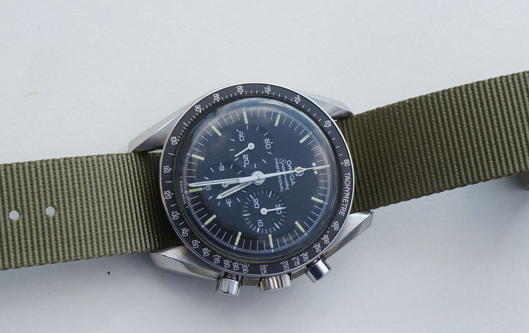 Omega Speedmaster 145.022 - 69 mit Nato strap