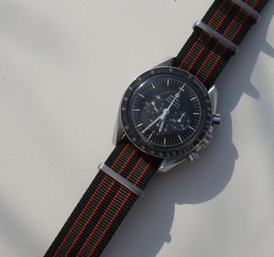 Omega Speedmaster 145.022 - 69 mit Nato strap Goldfinger James Bond