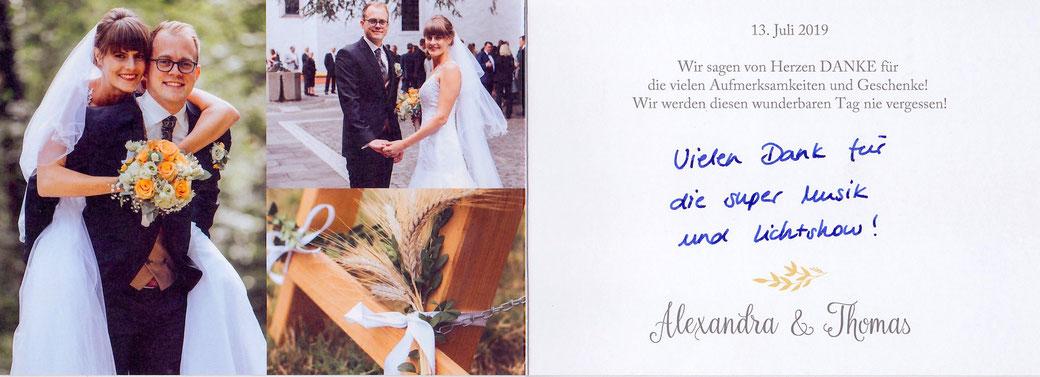 Hochzeits DJ Waldau, Venusberg buchen, Rezension