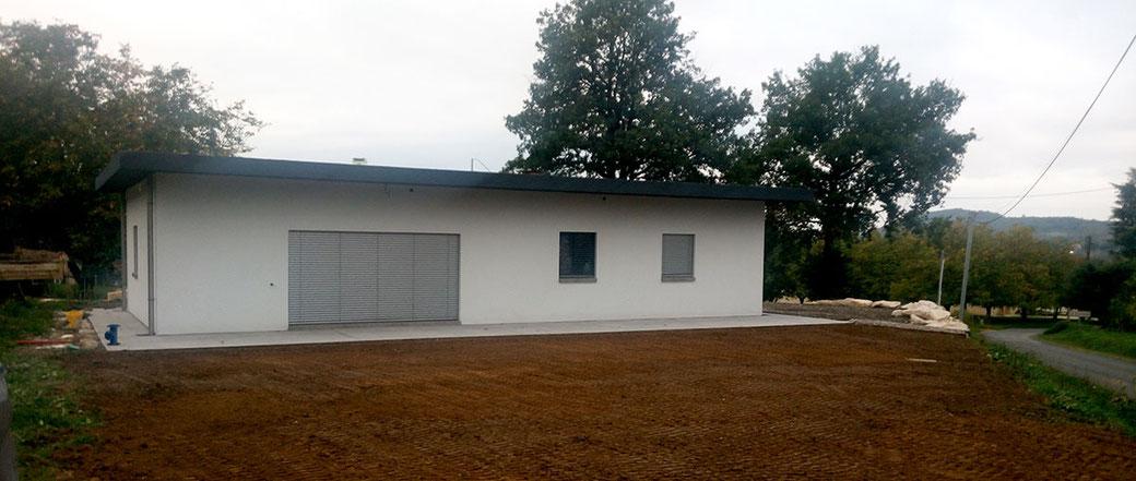 La maison - Béton préfabriqué construction