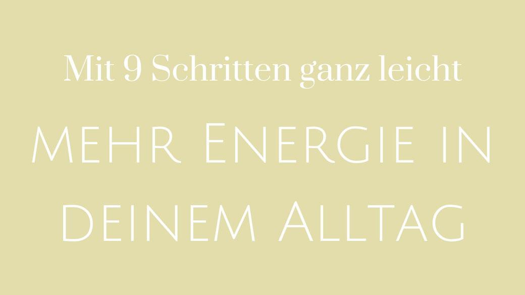 Energie Lebenskraft Motivation Atmung Beziehungen Ernährung Umfeld Aufräumen Glaubenssätze Bewegung Training Sport