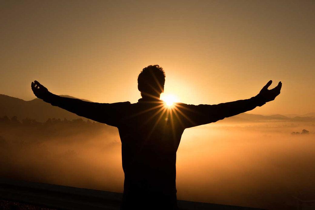 Zufiredenes Leben Werte Glück