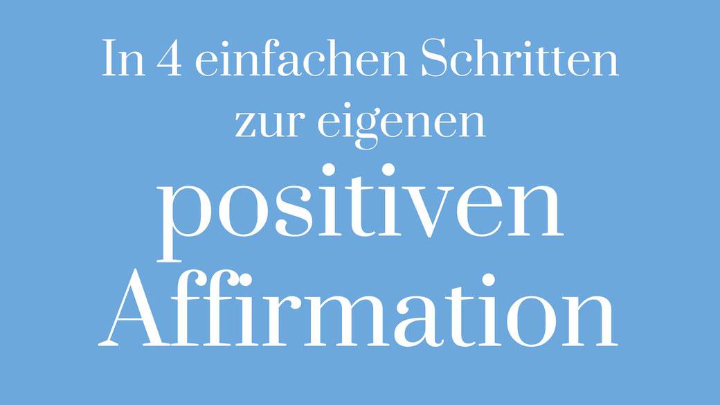 Positive Affirmationen Printable Freebie Leben verändern Mindset