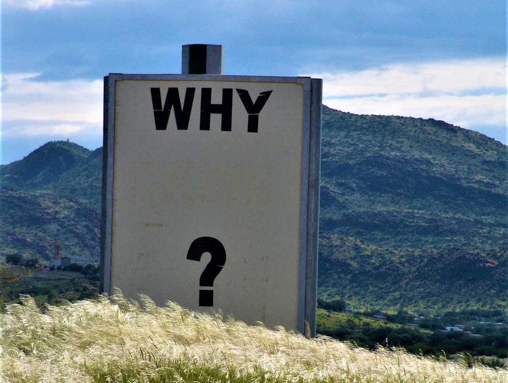 Warum Weshalb wieso Warum finden find your why finde dein Warum Motivation