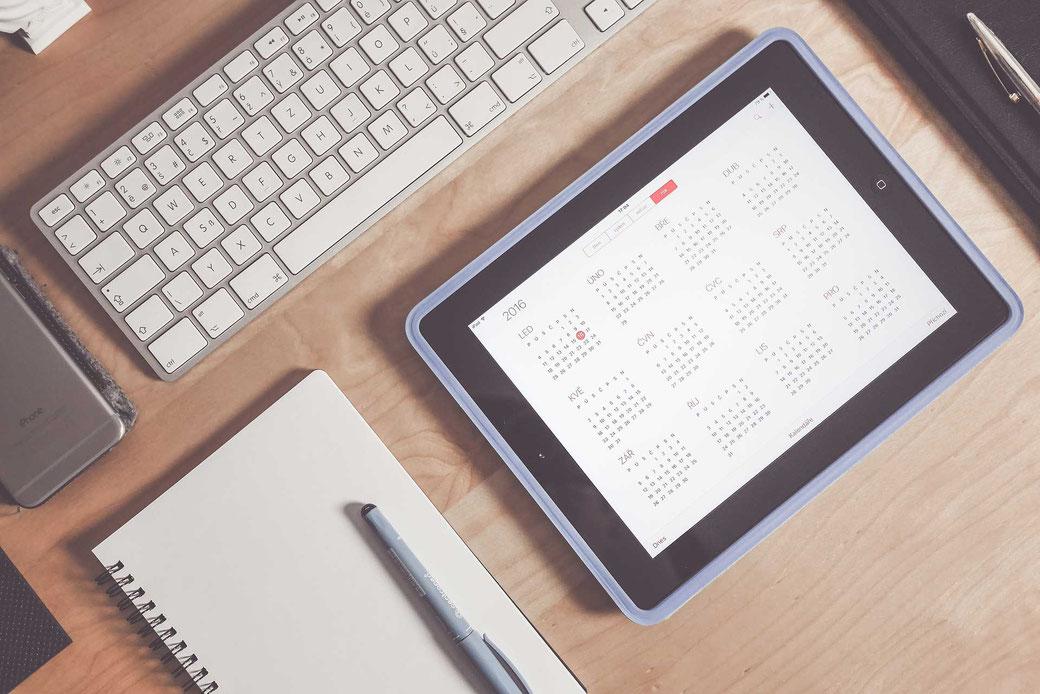 Aufschreiben Notizen Planen Zeitmanagement Selbstmanagement Kalender Apple