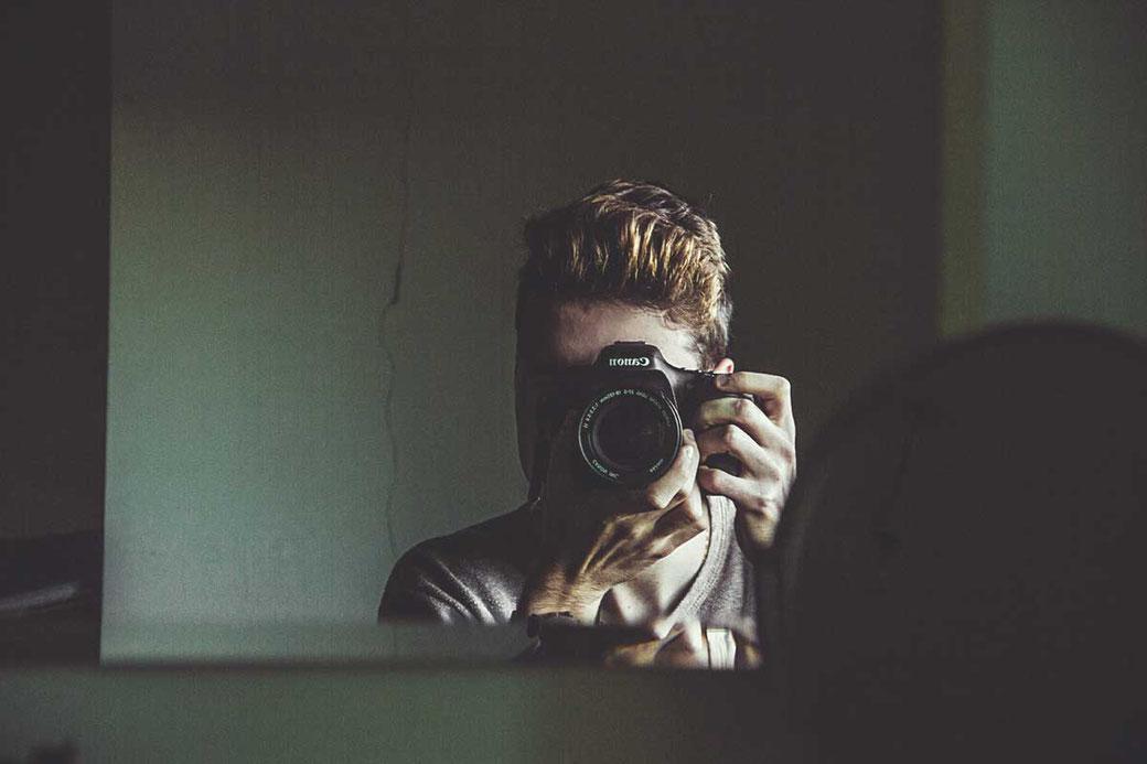 Positive Affirmationen Spiegel Kamera Foto Printable Freebie Storytime
