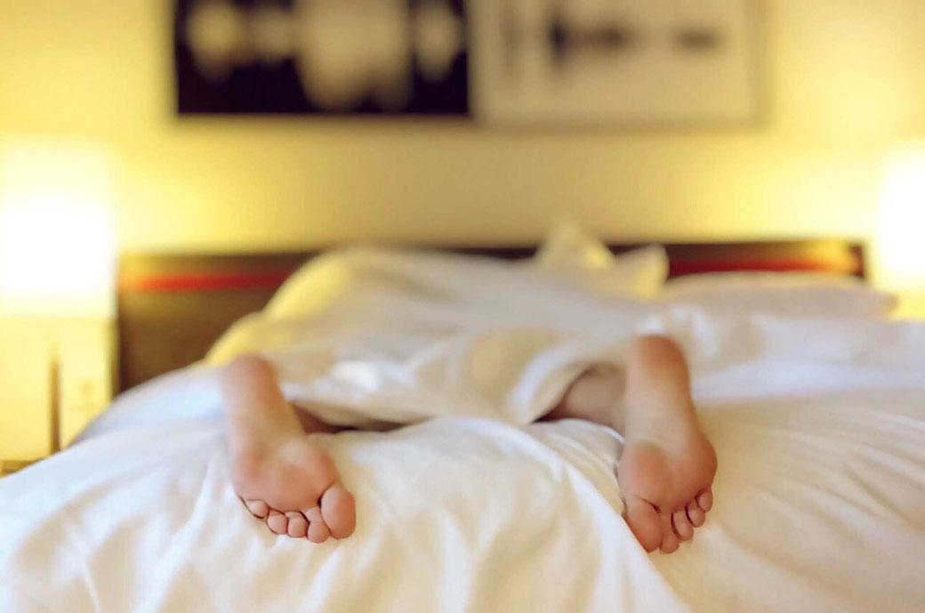 Schlafen Füße Frühaufsteher