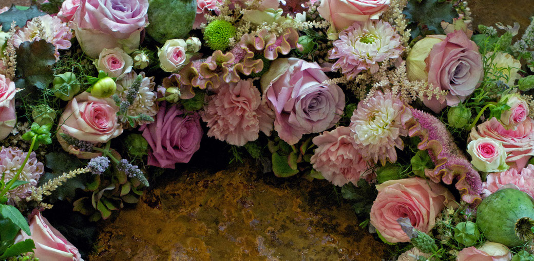 Trauerkranz Blumenkranz Beerdigung Blumen Friedhof Trauerfloristik Lenzburg