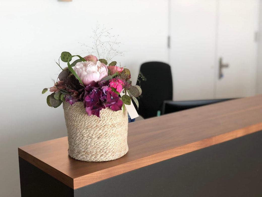 Blumen Dauerauftrag mit Lieferung in Lenzburg