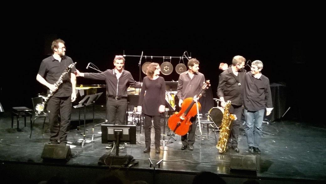 Concert de création au CCAM, Vandoeuvre-lès-Nancy, 2016